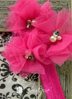 Pink Baby Boutique - Hot Pink Vintage Style Infant Baby Headband, $10.00 (http://www.pinkbabyboutique.com/hot-pink-vintage-style-infant-baby-headband/)