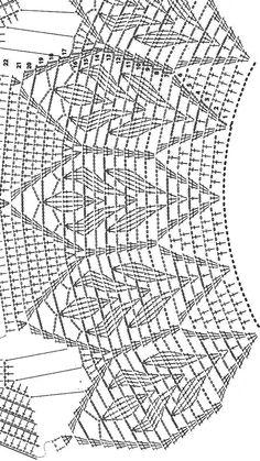 Crochet Collar Crochet Poncho Poncho Shawl Crochet Blouse Crochet Top Crochet Stitches Patterns Embroidery Patterns Stitch Patterns Cosas A Crochet Col Crochet, Gilet Crochet, Crochet Collar, Crochet Girls, Crochet Diagram, Crochet Cardigan, Black Crochet Dress, Crochet Motif, Lace Knitting