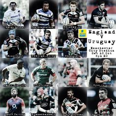 Selected to represent #ENG England Rugby v Uruguay #URU at the #RWC2015