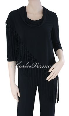 Joseph Ribkoff Black Tunic Style 154601