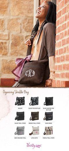 Organizing Shoulder Bag