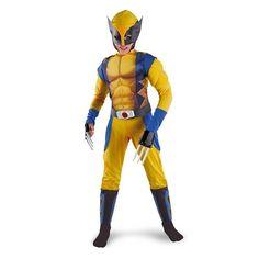 Xmen kids Wolverine Costume