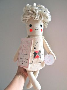 Hand Painted Linen Dolls by Jess Quinn