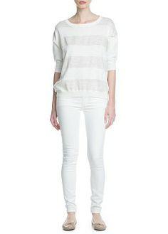 MANGO - NUEVO - Jeans super slim Paty