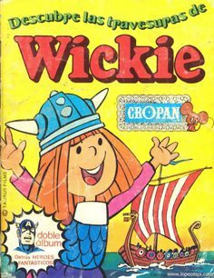 Caderneta de Cromos do Vickie Childhood Toys, Childhood Memories, Old Posters, Lynn Gunn, Cartoon Tv Shows, Curious Cat, Old Comics, Magazines For Kids, Infancy