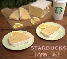 Maria Mind Body Health | Starbucks Lemon Loaf, low carb starbucks lemon loaf