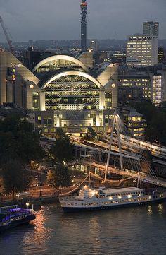 Embankment station, London, England