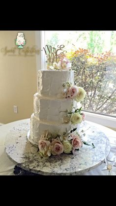Sweet Confections Custom Cakes Alexandria La Rustic Wedding Cake