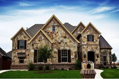 19 Best Brick And Stone Exteriors Images On Pinterest Stone Exterior Stone Facade And Brick