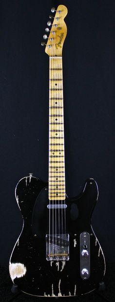 2007 Fender Masterbuilt '51 Nocaster Reissue Relic Black > Guitars : Electric Solid Body - Jesse Gago Guitars | Gbase.com