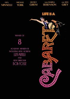 """Cabaret - Bob Fosse 1972 -- """"An egocentric American girl dreams of becoming a star while working in a third-rate Berlin cabaret."""""""