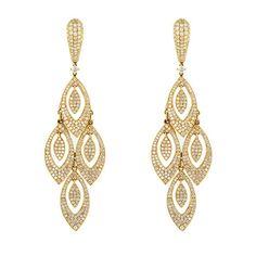 Furniture Adaptable 2017 New Earrings For Aretes Largos Baroque Big Long Earrings For Women Pendantes Christmas Drop Dangling Crystal Earrings