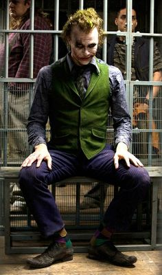Heath Ledger as the Joker (The Dark Knight)