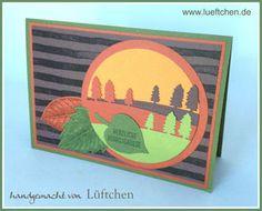 Lüftchen Stempelstudio Bergedorf: Herbstlandschaft
