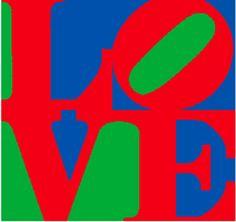 """Amazing Art Adventures : Robert Indiana's """"Love"""" (4th grade)"""