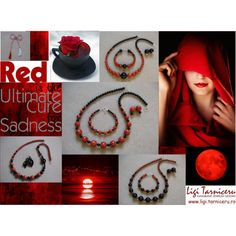 """""""Red a cure for sadness"""" by ligi-tarniceru on Polyvore"""