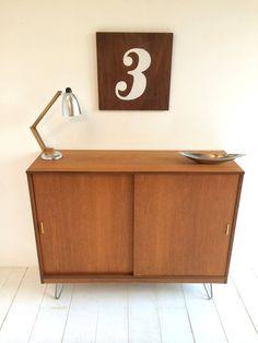 Original Mid Century Cabinet / Sideboard 1960s Danish | Etsy