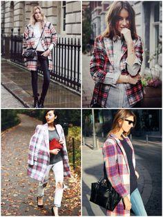 plaid coat inspiration