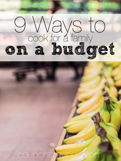 Grocery shopping on a budget? Healthy ideas, money-saving tips and more in this article. I love #7 - Haven't ever thought about stretching a meal that way before! http://couponcravings.com