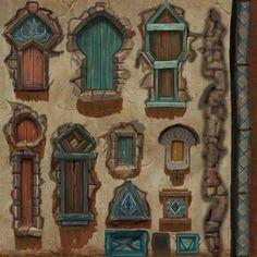 Kingdoms of Amalur: Reckoning — Neal Jany Prop Design, Game Design, Game Art, Game Textures, Hand Painted Textures, Game Props, Modelos 3d, 3d Texture, Game Concept Art