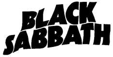Black Sabbaht logo preto e branco - Pesquisa Google