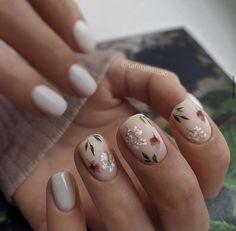 Nail Art Cute, Cute Gel Nails, Chic Nails, Fancy Nails, Stylish Nails, Pretty Nails, Subtle Nails, Nagellack Design, Bride Nails