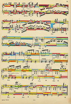 My life has color because of music   #notes #composition