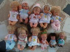 Lotazo UNICO 7 muñecas Barriguitas de Famosa, 3 minis y una muñeca tipo…