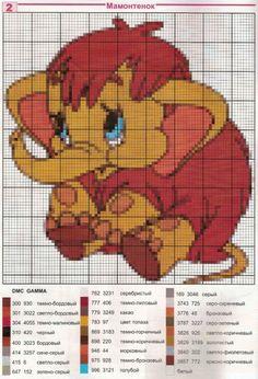 Disney Cross Stitch Patterns, Cross Stitch Kits, Cross Stitches, Elephant Cross Stitch, Rug Hooking, Crochet Patterns, Tapestry, Knitting, Crafts
