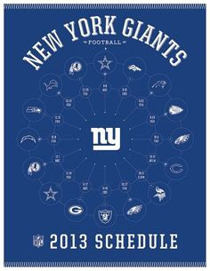 2013 New York Giants schedule