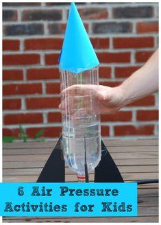 6 fun air pressure experiments for kids #Science #Airpressure