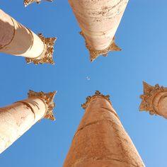 Roman ruins beyond Rome