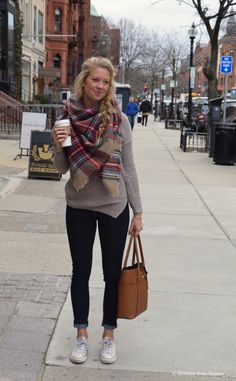 Coffee Date Style on Newbury Street // Brittany from Boston #casualfalloutfits