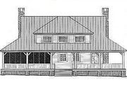 Havens South Designs likes Plan 81-101, a country farm house style. Rear Elevation