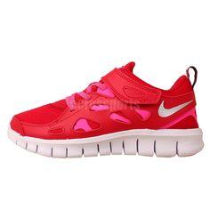 30174d6fc479 Nike Free Run 2 Print PSV Preschool Velcro 2015 Kids Girls Running Shoes
