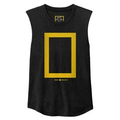 National Geographic x Parks Project Border Women's Muscle Tank - National Geographic x Parks Project Border Women's Muscle Tank - Womens Muscle Tank, Muscle Tanks, Vintage Band Tees, Cool Fabric, T Shirts For Women, Clothes For Women, Black And Grey Tattoos, National Geographic, Workout Shirts