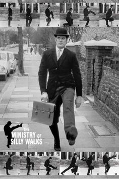 art of Monty Python | Monty Python - The Ministry Of Silly Walks - Poster - online im Shop ...