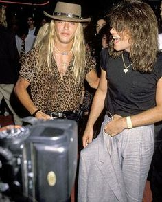 Jon & Bret Michaels (from Poison)