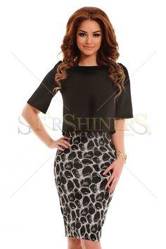 Inspired Fashionista Black Dress