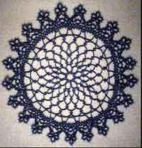 12 inch diameter mat