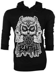 OWL Bring Me The Horizon BMTH Oliver Sykes Hoodie by all4handprint, $35.99