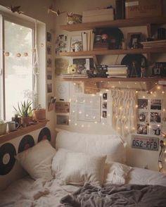 Diy Bedroom Decor For Teens, Room Ideas Bedroom, Dream Bedroom, Dream Rooms, Room Ideas For Teen Girls Diy, Cozy Teen Bedroom, Trendy Bedroom, Bedroom Colors, Bed Room