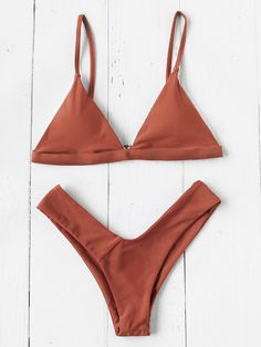 Triangle Beach Bikini Set Mobile Site