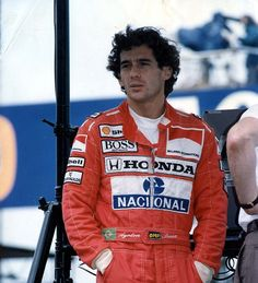 Three-time world champion Senna died after a crash at Imola in 1994