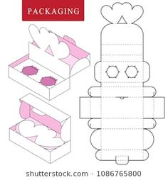 packaging for cosmetic or skincare product.