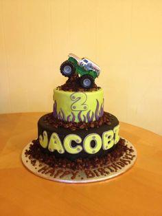 monster jam cakes - Google Search