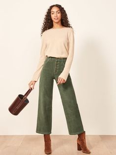 Ethical Edit: Sustainable Corduroys Are A Blast From The Past - Ethical Fashion - Mode Outfits, Casual Outfits, Fashion Outfits, Womens Fashion, Fashion Trends, Fashion Shirts, Fashion Games, 70s Fashion, Fall Winter Outfits
