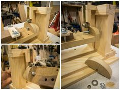 Neck shaping jig collection 3