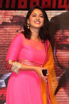 Anushka Shetty in Alex Pandian Audio Launch | Veethi