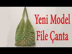 YouTube Crochet Shoulder Bags, Crochet Market Bag, Crochet Purses, Crochet Videos, Custom Bags, Lace Flowers, Casual Bags, Knitted Bags, Filet Crochet